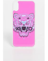 KENZO Tiger Head Iphone Case Xs / X - Multicolour