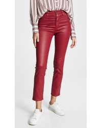 AG Jeans - The Leatherette Isabelle Jeans - Lyst
