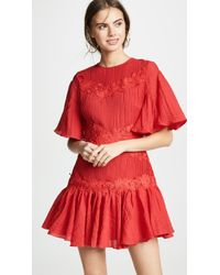 Keepsake - Only Surrender Mini Dress - Lyst
