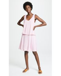 Three Dots - Vintage Pom Pom Dress - Lyst