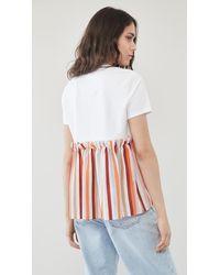 ADEAM Goldfish T-shirt - White