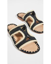 Carrie Forbes Moha Slides - Multicolour
