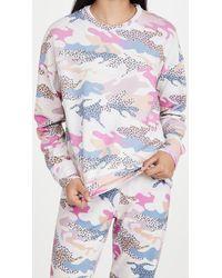 Sundry Abstract Camo Sweatshirt - Multicolour