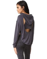 Free People - Movement Back Into It Hoodie - Lyst