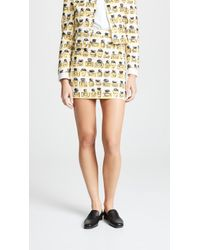 Boutique Moschino - Perfume Print Miniskirt - Lyst