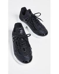 f43c35eab0f Lyst - KENZO Logo Suede Slip-On Sneakers in Black