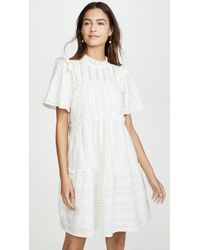 Sea Pascale Short Tunic Dress - White
