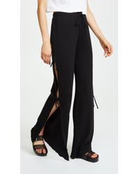 Lanston - Side Tie Track Trousers - Lyst