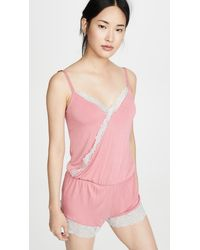 Honeydew Intimates Back To Bed Romper - Pink
