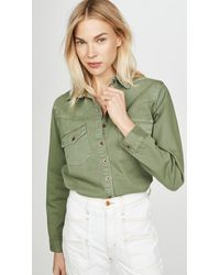 One Teaspoon New Vintage Shirt - Green