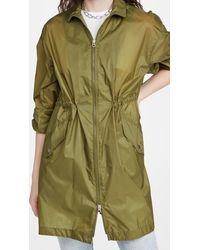 Rag & Bone Adison Raincoat - Green