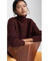 Autumn Cashmere Chunky Shaker Cashmere Jumper - Multicolour