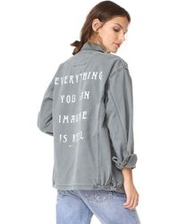 Spiritual Gangster - Everything Is Real Army Jacket - Lyst