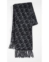 Mackage M Print Scarf - Black