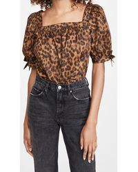 Rebecca Minkoff Eve Top - Brown