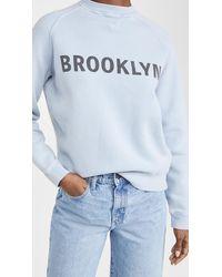 Victoria, Victoria Beckham Brooklyn Sweatshirt - Blue