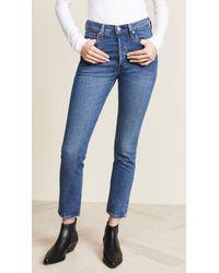 Levi's 501 Skinny Stretch Jeans - Blue