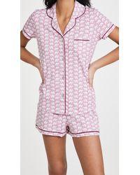 Roberta Roller Rabbit Hathi Polo Pyjama Set - Pink