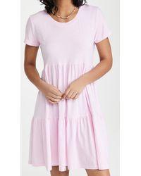 Sundry Ruffle Dress - Pink