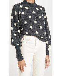 Blank NYC Puff Sleeve Sweater - Multicolour