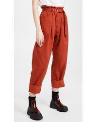 Rachel Comey Irolo Trousers - Red