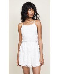 Peixoto - Lace Dress With Tassels - Lyst