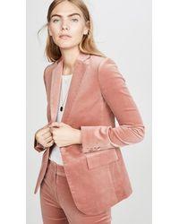 FRAME Classic Blazer - Pink