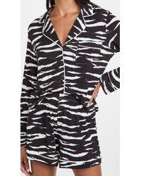 Rails Eva Pajama Set - Black
