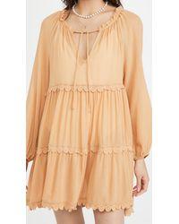 Eberjey Summer Of Love Sofia Dress - Natural