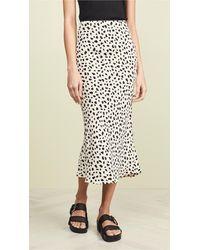 Moon River Leopard Print Skirt - Multicolor