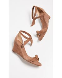 Alexandre Birman - Clarita Demi 75mm Wedge Sandals - Lyst