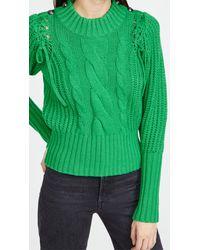 Munthe Turner Pullover Jumper - Green