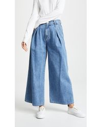 SJYP - Wide Fit Jeans - Lyst