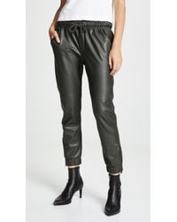 David Lerner - Ankle Zip Joggers - Lyst