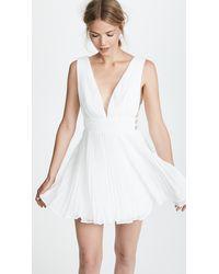 Fame & Partners The Briella Dress - White