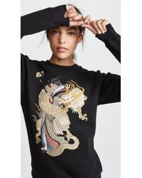 Katya Dobryakova - Girl With Dragon Sweatshirt - Lyst