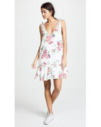 MINKPINK - Pretty Petals Drop Waist Dress - Lyst