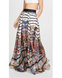 Camilla Full Hem Skirt - Multicolor