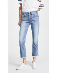 McGuire Denim - High Rise Cropped Gainsbourg Jeans - Lyst