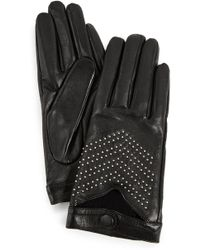 Mackage - Gaby Leather Tech Gloves - Lyst