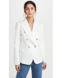 Lioness Linen Palermo Blazer - White