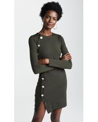 Susana Monaco - Button Detail Dress - Lyst