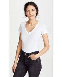 James Perse - Casual Tee - Lyst