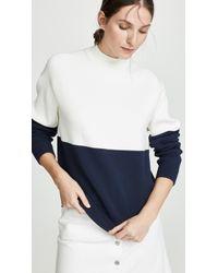 Tory Sport - Colorblock Sweatshirt - Lyst