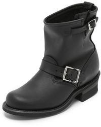 Frye Engineer 8r Boots - Black