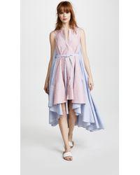 JOUR/NÉ Oxford Dress - Blue