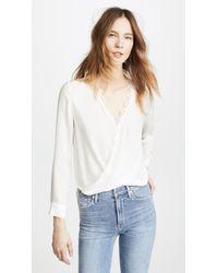 c6c8731bceb88 Alice + Olivia. Rosario Tie Waist Kimono Top.  330  231 (30% off). Shopbop  · L Agence - Rosario Blouse With Lace - Lyst
