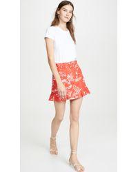 Tanya Taylor Lizette Skirt - Red