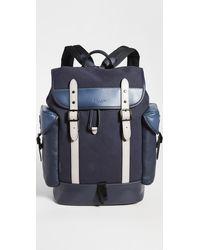 COACH Hitch Backpack - Blue