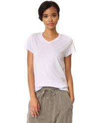Zoe Karssen - Loose Fit V Neck Tee - Lyst
